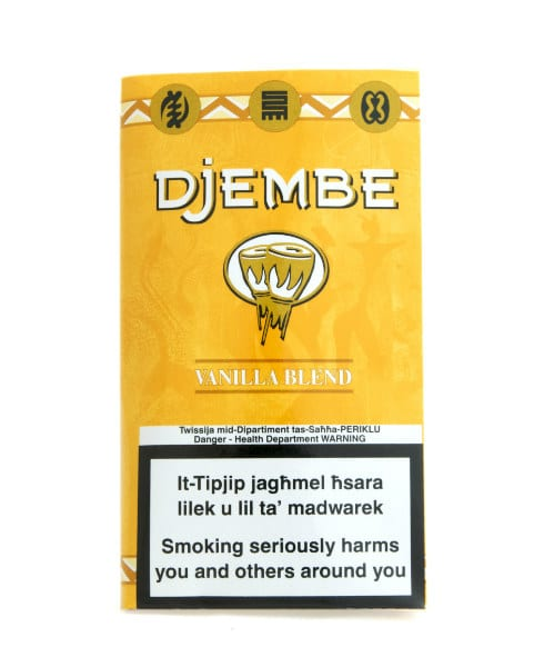 Djembe vanilla blend tobacco roll your own 40 grams