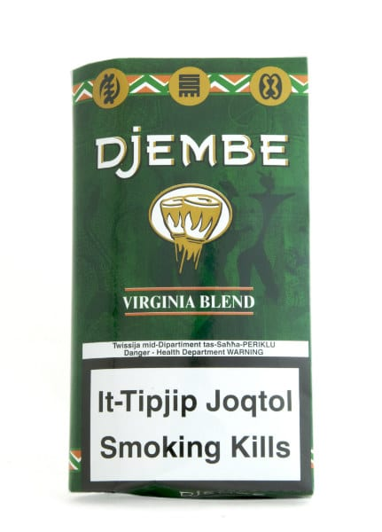 Djembe Virginia blend tobacco roll your own 40 grams